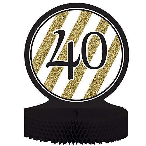 40th Birthday Centerpieces - Centerpiece Table Decoration
