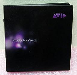 AVID Production Suite 6-Disc Bundle 0010-30464-02-A Sonic, Boris FX, Squeeze + more