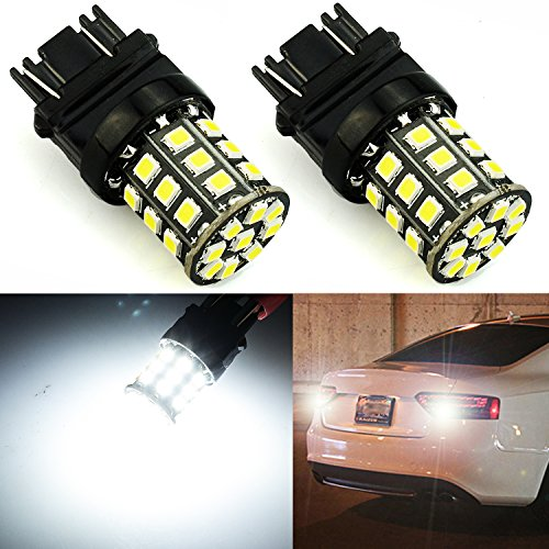 JDM ASTAR Super Bright AX-2835 Chipsets 3056 3156 3057 3157 LED Bulbs ,Xenon White (Only used for backup reverse lights)
