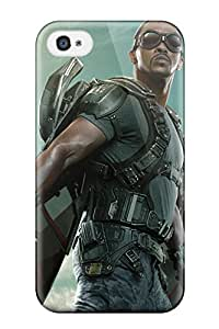 sandra hedges Stern's Shop The Falcon Captain America The Winter Soldier Fashion Tpu 4/4s Case Cover For Iphone 2992395K90014262