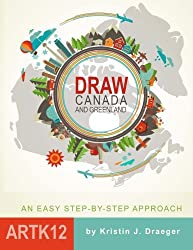 Draw Canada and Greenland
