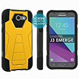 Don't sacrifice the looks of your phone case, Protection with Style for your Galaxy J3 Emerge [2017]Amp Prime2/Express Prime2/Mission Eclipse/J3 Luna Pro    You will always have a piece of mind with Skinguardz on your side. You Play POPCulture Pro...