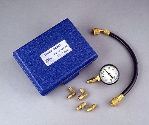 Yellow Jacket 78020 Complete Fuel Oil Gauge Kit (Oil Burner Hose compare prices)