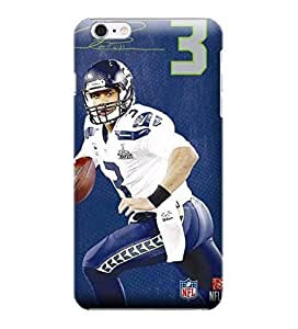 Allan Diy iPhone 6 case covers, NFL - Russell Wilson Action Shot Seattle Seahawks - iPhone 6 14Hloirle7y case covers - High Quality PC case cover