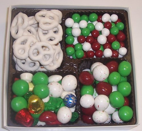 Scott's Cakes Large 4-Pack Deluxe Christmas Mix, Dutch Mints, Christmas Malt Balls, & White Pretzels