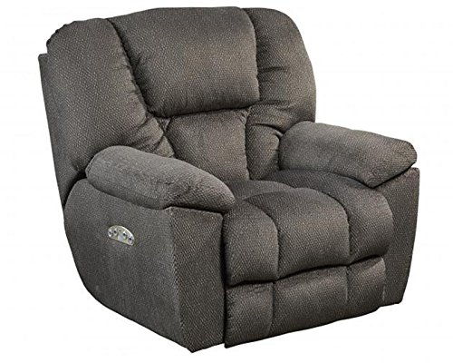 Cheap Catnapper Owens 764761-7 Power Full Lay Out Recliner Chair with Power Headrest and Lumbar Support – Seal