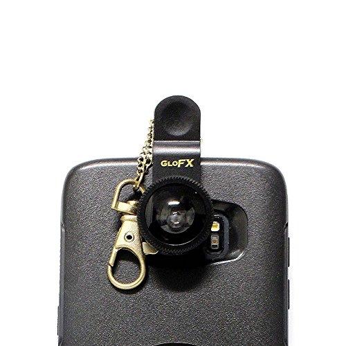 - GloFX Phone Camera Lens Kit - 4-in-1 Kaleidoscopic, Macro, Fish Eye, Wide Angle
