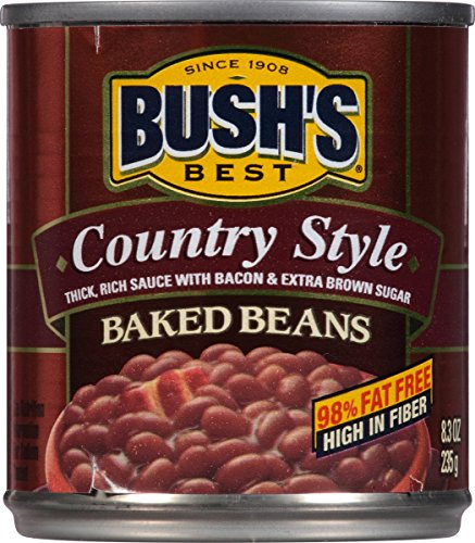 Bush's Best Country Style Baked Beans, 8.31 oz (12 cans)
