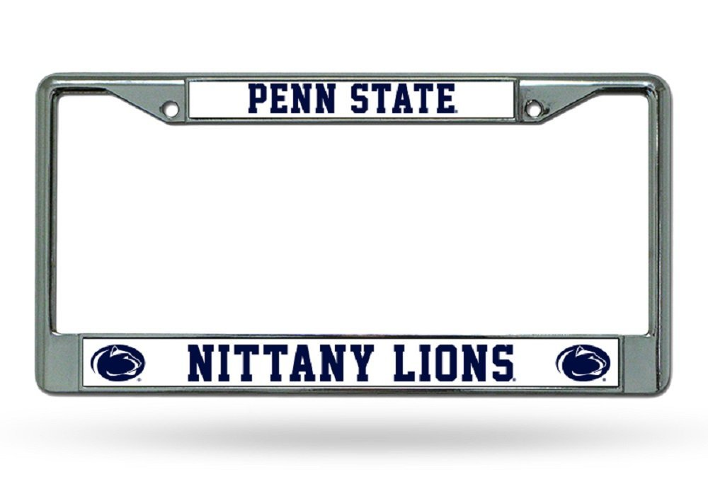 Rico Industries NCAA Penn State Nittany Lions Standard Chrome License Plate Frame Inc FC210202
