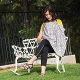 Bebe au Lait Premium Cotton Nursing Cover, Nest