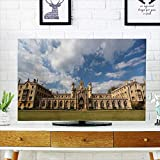 Analisahome Cord Cover for Wall Mounted tv The New Court st John s College at Cambridge University Cambridge UK Cover Mounted tv W19 x H30 INCH/TV 32''
