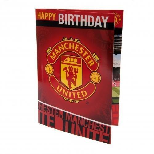 Musical Birthday Card - Manchester United F.C