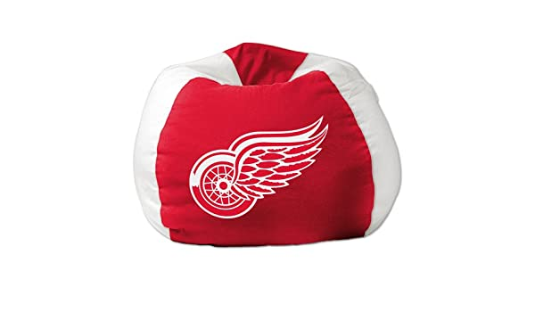 THE NORTHWEST COMPANY DETROIT RED WINGS BEAN BAG CHAIR Amazonca Home Kitchen