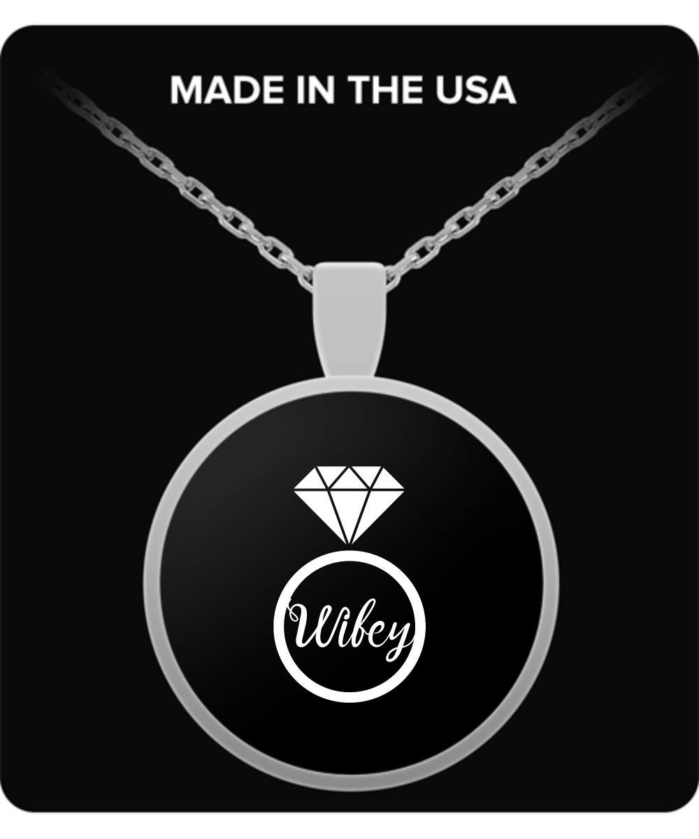 De Look Wifey Matching Married Necklace