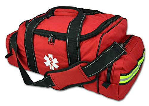 Bag Trauma (Lightning X Large EMT Medic First Responder EMS Trauma Jump Bag w/ Dividers (Red))