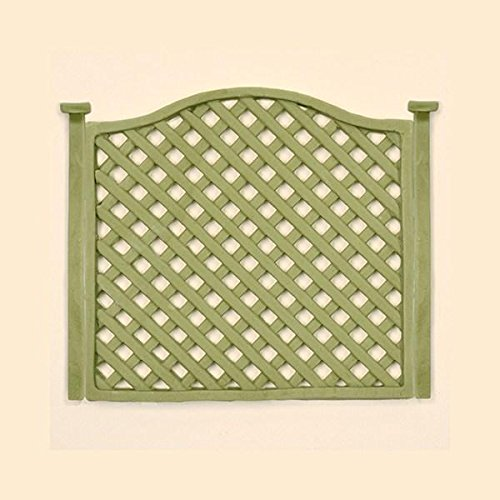 Trellis Fence Silicone Mold for Cake Decorating, Crafts, Cupcakes, Sugarcraft, Candies, Chocolate, Card Making and Clay, Food Safe Approved, Made in the UK