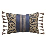 Croscill 2A0-536O0-1441/420 Sebastian Boudoir Pillow Throw Pillow