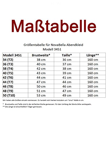 NovaBelle - Vestido - trapecio - Básico - Sin mangas - para mujer borgoña