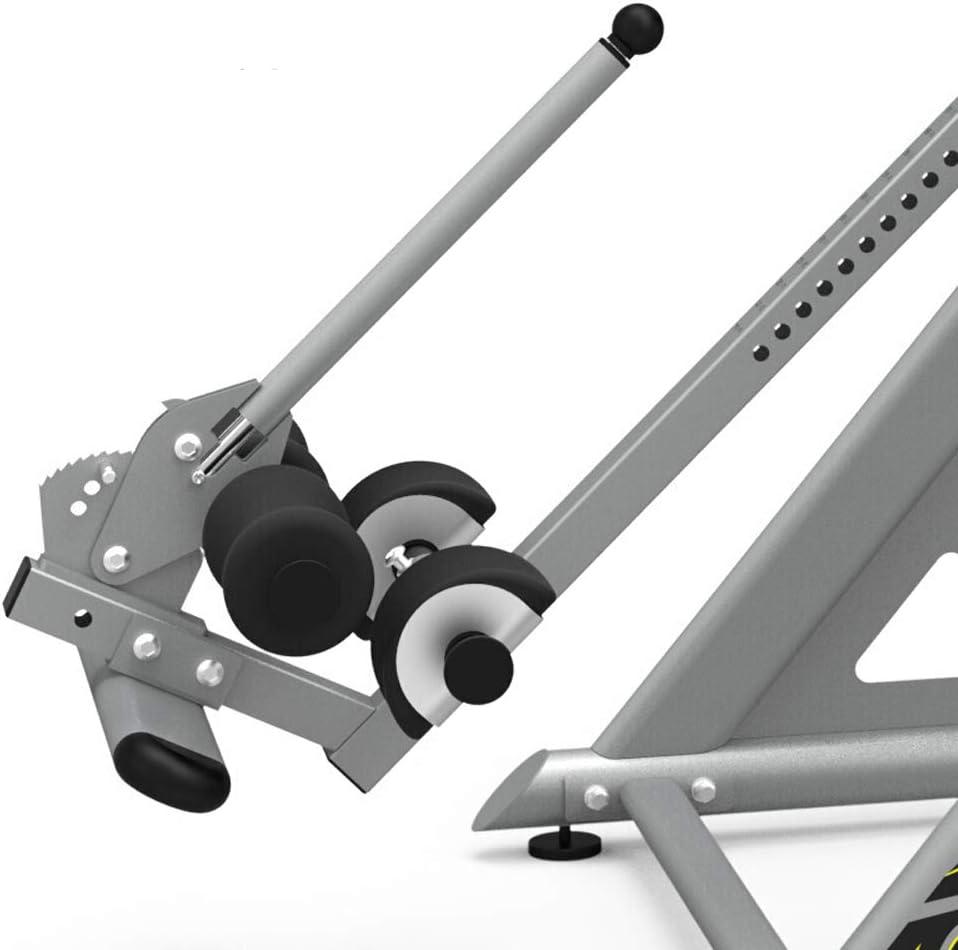 転倒したマシンの家の子宮頸部脊椎ウエストフィットネス機器 黒+Gray