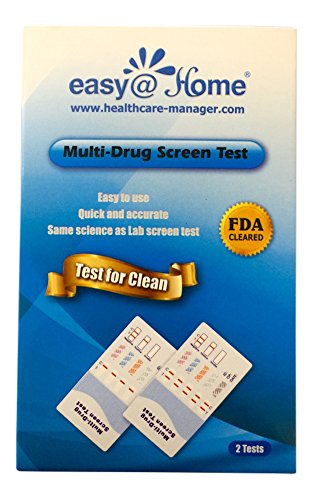 (2 Pack) #EDOAP-1124 - 12 Panel Instant Urine Dip Drug Testing Kit,test for different drugs:THC,COC,OPI 2000,MET,OXY,AMP,BAR,BZO,MTD,MDMA,PCP,PPX