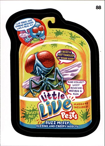 2015 Wacky Packages Series One #88 Little Live Pests ()