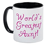 Best CafePress Neice Shirts - CafePress - World's Greatest Aunt! Mug - Unique Review