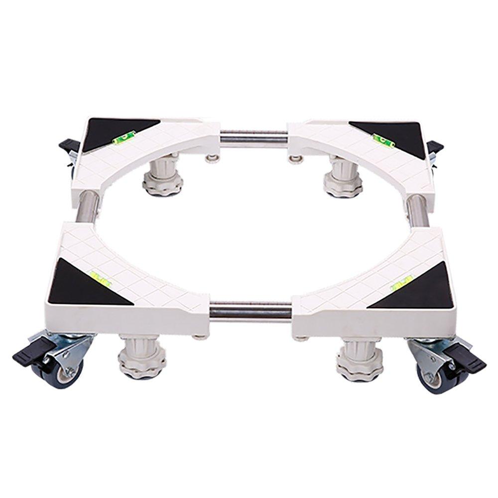 多機能可動式テレスコピック家具ドライヤー、洗濯機、冷蔵庫用に調節可能な4本の強力なフィートで調節可能なDolly Roller (Size : 4 Rollers+4 feet A) 4 Rollers+4 feet A  B07CWNTV2N