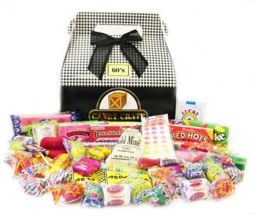 Candy Crate 1960's Classic Retro Candy Gift Box