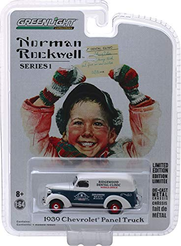 Greenlight Norman Rockwell Collection Series 1 1939 Chevrolet Panel Truck