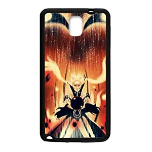 Happy Kurama Nine-Tails Chakra Mode Cell Phone Case for Samsung Galaxy Note3