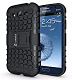 Armor Samsung Galaxy Grand Duos I9082 Flip Stand Hard Armor Rubber Bumper Case Cover