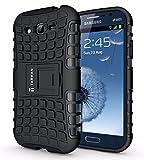 Armor Samsung Galaxy Grand Duos I9082 Flip Stand Hard Armor Rubber Bumper Case Cover