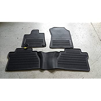 genuine toyota all weather floor mats for the. Black Bedroom Furniture Sets. Home Design Ideas