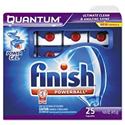 FINISH QUANTUM GEL 25CT by FINISH MfrPartNo 5170092764
