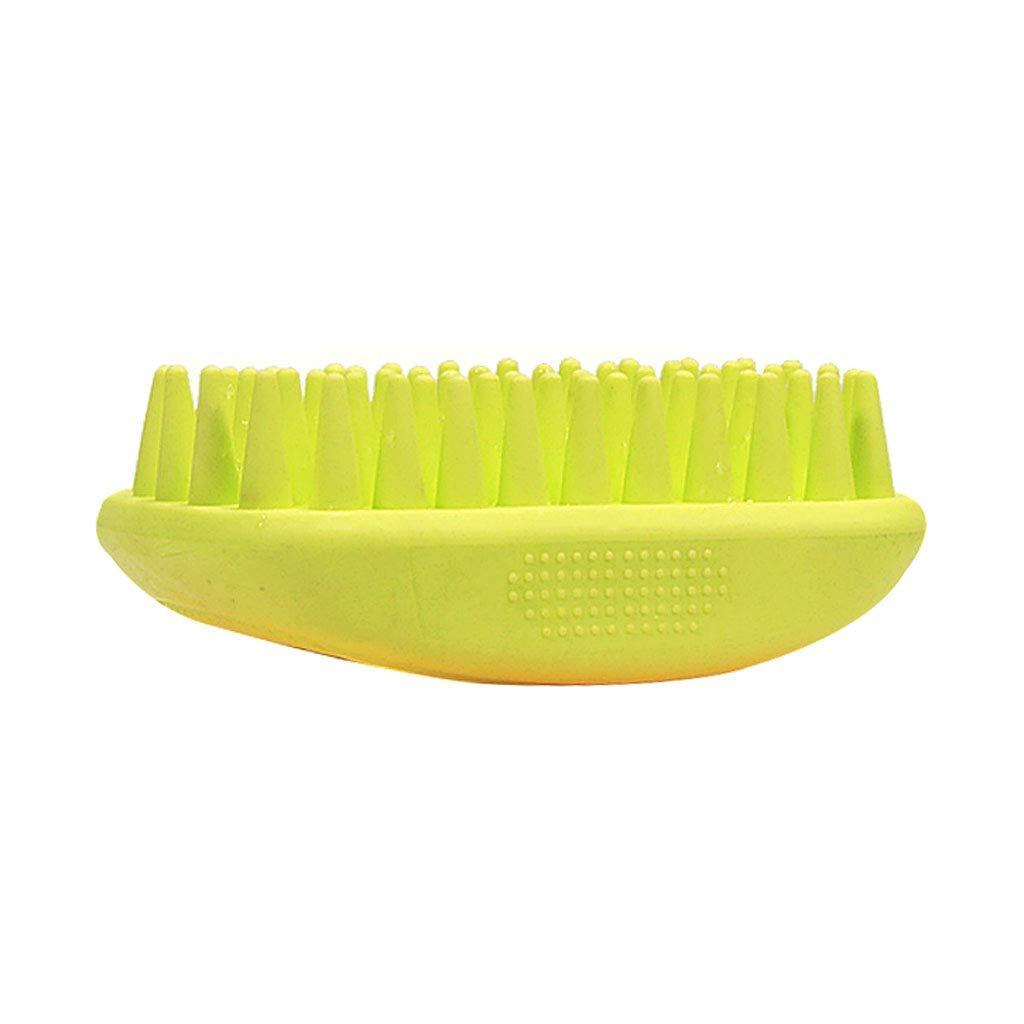 Green Pet Brush Dog Comb Dog Hair Comb Cat Comb Brush Dog Brush Bath Brush Massage Comb Small and Medium Sized Dogs Pet Supplies,Green
