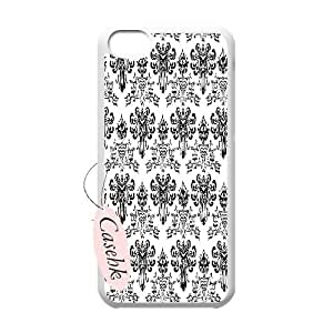 Casehk Cheap Durable Case Cover for iPhone 5C, Haunted Mansion iPhone 5C Hot Sale Case, Haunted Mansion DIY Shell Phone Case