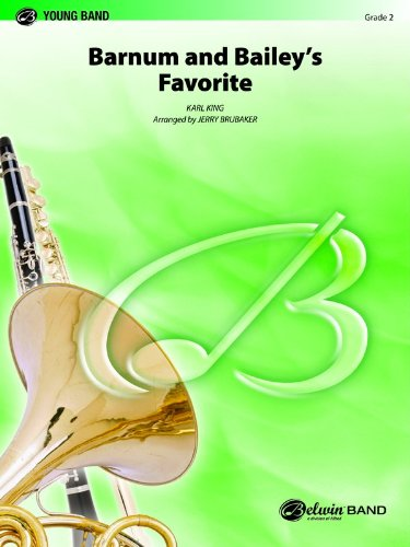 Barnum and Bailey's Favorite (Belwin Young Band) by Schaum Pubns