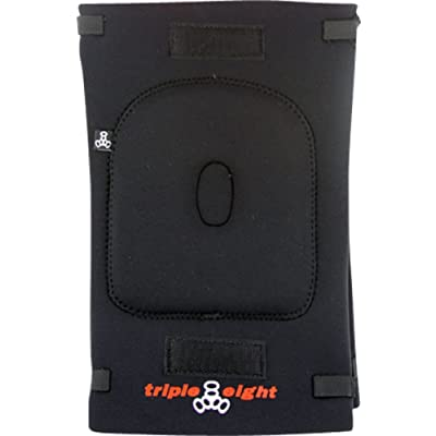 Triple 8 Black Large Knee Gaskets : Skate And Skateboarding Knee Pads : Sports & Outdoors