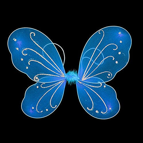 MEIBY Fairy Colorful Butterfly Wings Show Props Fancy Dress Kids Halloween Party Dressing up (Dressing Up Costume)