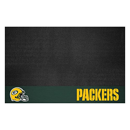 Fanmats NFL Green Bay Packers Vinyl Grill Mat Bay Floor
