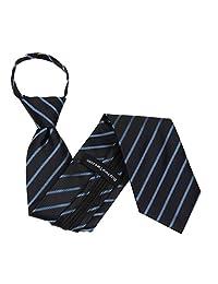 Mens Designer Pattern Zipper Necktie