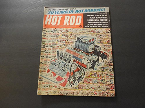 Hot Rod Jan 1968 Iron Blocks,Heads; Buick 400 GS; Differential Rebuild
