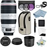 Canon EF 100-400mm f/4.5-5.6L IS II USM Lens + Canon CarePak PLUS 13 Month Damage Protection + Advanced Accessory Kit - Canon Lens Bundle Includes EVERYTHING You Need to Get Started