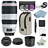 Canon EF 100-400mm f/4.5-5.6L IS II USM Lens + Canon CarePak PLUS 13 Month Damage Protection + Advanced Accessory Kit – Canon Lens Bundle Includes EVERYTHING You Need to Get Started For Sale