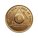 6 Month Bronze AA %28Alcoholics Anonymou