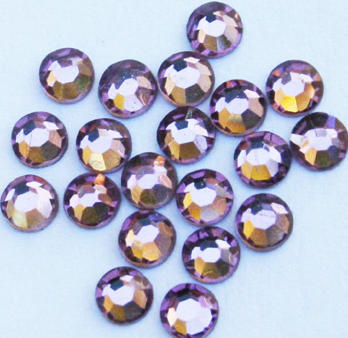 Zink Color Crystal Rhinestone Ss6 Light Amethyst 20Pc Cell Phone Embellishment
