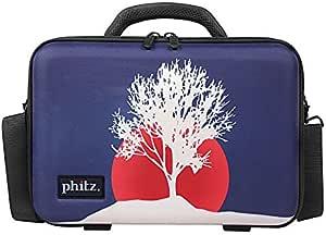 Homyl Hard Carrying Travel Handbag Case Storage Organizer Compatible with B Flat Clarinet Instrument