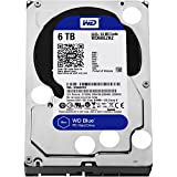 WD WD60EZRZ Blue 6 TB 3.5-inch SATA 6 Gb/s 5400 RPM PC Hard Drive - SATA - 7200 - 64 MB Buffer - Blue