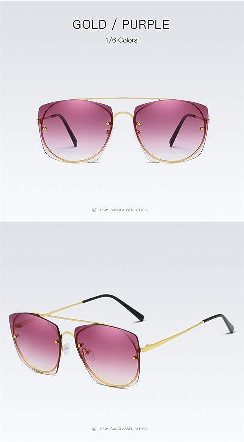 YIWU Gafas y Accesorios Gafas de Sol de Mujer con Tendencia ...