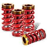 For Civic/CRX/Del Sol/Integra Aluminum Scaled Coilover Kit (Red Springs Red Sleeves)